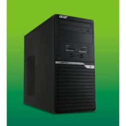 Acer Veriton MiniTower M6660G I7-8700/2X 4GB DDR4/256GB SSD+2TB HDD/DVD-RW/Win 10 Pro/3 Years Onsite Warranty