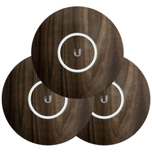 Ubiquiti UniFi NanoHD Skin Casing - Wood Design - 3-Pack
