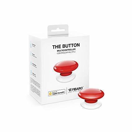 Fibaro Homekit The Button Red
