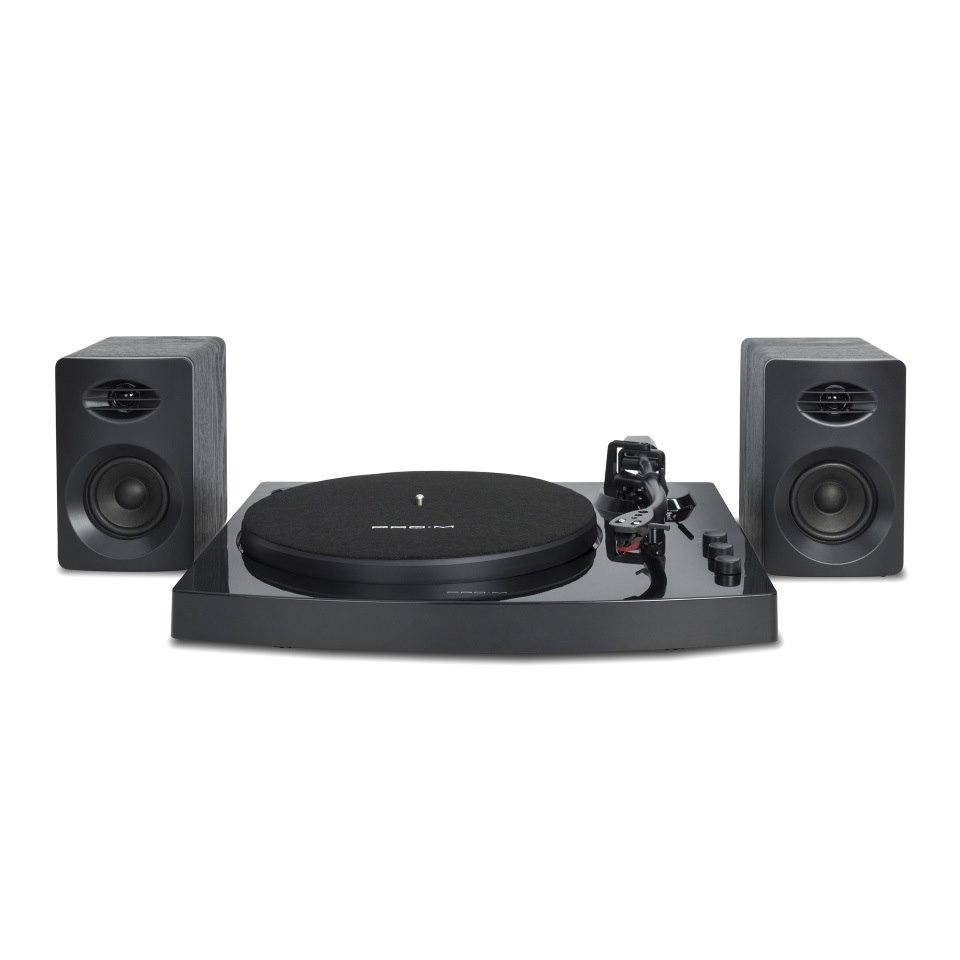 Mbeat® Pro-M Bluetooth Stereo Turntable System (Black)
