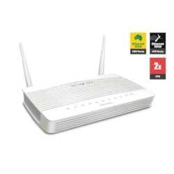 Draytek Vigor2133VAC Wireless Gigabit Broadband Firewall Router 450Mbps Ac1200 WiFi 3G/4G 2Usb Lte 4xGigabit Lan 2xVPN Backup Support VigorACS Si