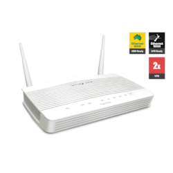 Draytek Vigor2133N Wireless Gigabit Broadband Firewall Router 450Mbps 3G/4G Usb Lte With Wan 4xGigabit Lan 2xVPN 11N WiFi Backup Support VigorACS Si