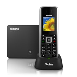Yealink W52P HD Business Ip-Dect Phone. Includes Base Station, 1X Handset, Charger, Belt Clip