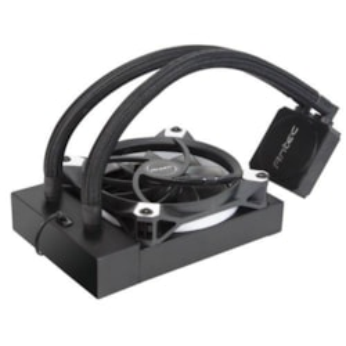 Antec Kuhler K120 Liquid Cpu Cooler, Low Profile, PWM Fan, Teflon Coated Tubing, Lga 2066, 2011, Am4, FMx