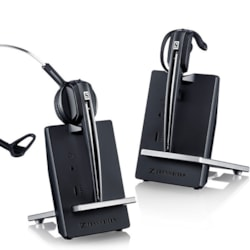 Sennheiser Dect Wireless Headset And Base For Soft phone/PC Use. Up To 12 Hours Talk Time, Noise Cancelling Mic, CS540 / Pro 920