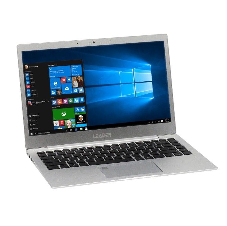 Leader Ultraslim Companion 342Pro,13.3'Fhd FHD Ips 1920*1080/ I5-8350U/8G/240Gb SSD/ Wifi+Bt/Hd Camera/Full Metal Silver/Windows10Pro/2Yrs Warra