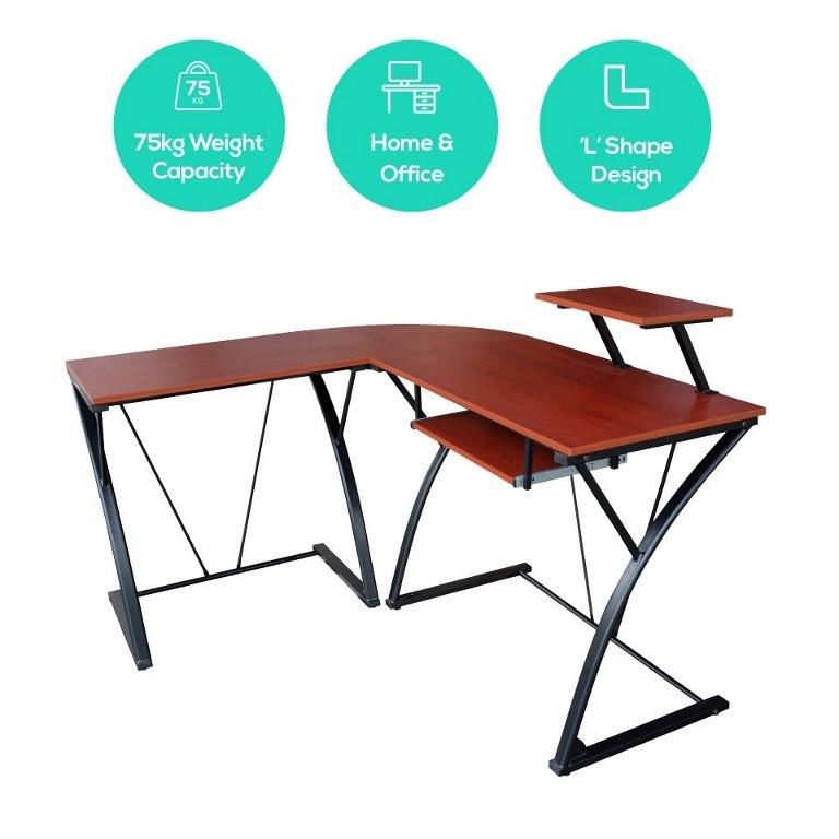 Mbeat® actiVIVA Khloe L-Shape Modern Computer Desk