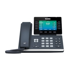 Yealink 16 Line Ip HD Phone, 4.3'' 480 X 272 Colour Screen, HD Voice, Dual Gig Ports, Built In Bluetooth And WiFi, Usb 2.0 Port