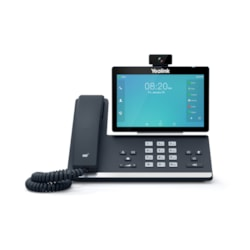 Yealink 16 Line Ip HD Android Phone, 7'' 1024 X 600 Colour Touch Screen, HD Voice, 720P30 HD Video Camera, Dual Gig Ports, Built In Bluetooth And WiFi, Usb 2.0 Port