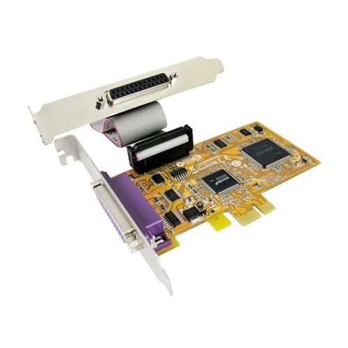Sunix Par5418a Pcie 2-Port Parallel Ieee1284 Card