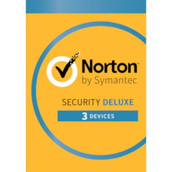 Norton Security Deluxe 2018, 3 Device, 12 Months, PC, Mac, Android, Ios, Oem - Subscription Only Edition