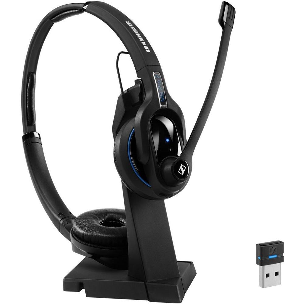 Sennheiser Bluetooth 4.0 Headset, Binaural, Ultra Noise Cancelling Microphone, Single Ear, Talk Time Up To 15 Hours, Sennheiser HD Sound,