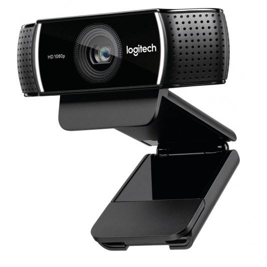 Logitech C922 Pro Stream Full HD Webcam 30FPS At 1080P Autofocus Light Correction 2 Stereo Microphones 78° FoV 3MTHS XSplit License ~Vilt-C920 960-001