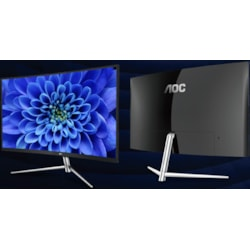 Aoc 31.5In Curved Full HD 4MS DP Hdmi VG