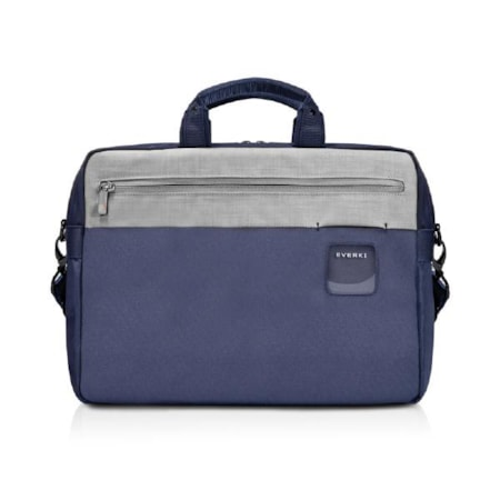 """Everki ContemPRO Commuter Laptop Bag Navy Briefcase, Up To 15.6"""" With Dedicated Tablet/iPad/Pro/Kindle Compartment Up To 13"""""""