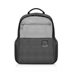 "Everki ContemPRO Commuter Laptop Backpack, Up To 15.6"" Black (Ekp160) With Dedicated Tablet/iPad/Pro/Kindle Compartment Up To 13"""
