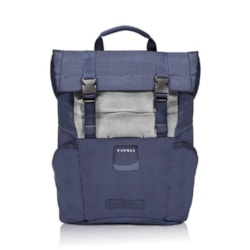"""Everki ContemPRO Roll Top Laptop Backpack, Up To 15.6"""" Navy (Ekp161n) With Dedicated Tablet/iPad/Pro/Kindle Compartment Up To 13"""""""