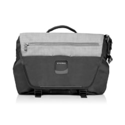 """Everki ContemPRO Laptop Bike Messenger, Up To 14.1""""/MacBook Pro 15 - Black (Eks660) With Dedicated Tablet/iPad/Pro/Kindle Compartment Up To 13"""""""