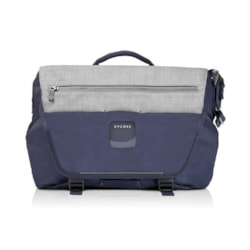 """Everki ContemPRO Laptop Bike Messenger, Up To 14.1""""/MacBook Pro 15 - Navy (Eks660n) With Dedicated Tablet/iPad/Pro/Kindle Compartment Up To 13"""""""