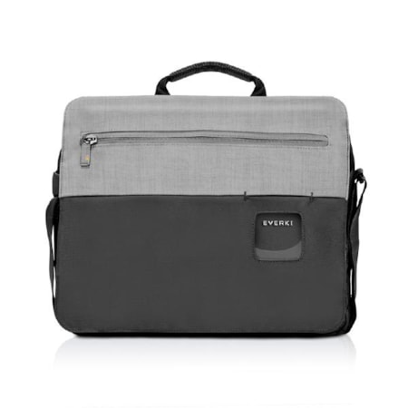 """Everki ContemPRO Laptop Shoulder Bag Black, Up To 14.1""""/ MacBook Pro 15 With Dedicated Tablet/iPad/Pro/Kindle Compartment Up To 13"""""""