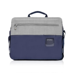"""Everki ContemPRO Laptop Shoulder Bag Navy, Up To 14.1""""/ MacBook Pro 15 With Dedicated Tablet/iPad/Pro/Kindle Compartment Up To 13"""""""