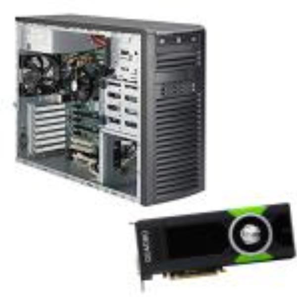 SuperMicro/QUADRO 32Sys-7039A-I Plus 1 X 11LP6000 Super Bundle