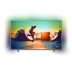 "Philips 6700 Series, 164 CM (65"") 4K Ultra Slim TV With Ambilight 3-Sided, Quad Core, DVB-T/T2, 3 Year Onsite Warranty."