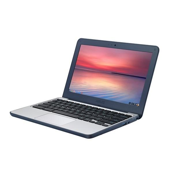 Asus C202 11.6' Chromebook Quad-Core RK3288C, 4GB DDR3, 16GB SSD, HD Graphics, Chrome Os, Blue