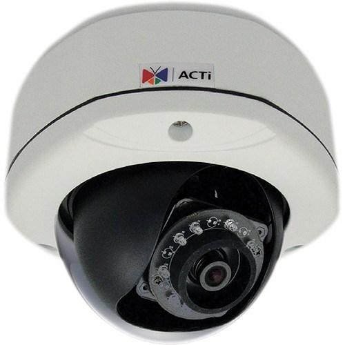 ACTi E72a 3MP Outdoor Dome, Ip66 1080P/30FPS, SDHC, D/N, Ik10 **Opened Box** Used Cameras