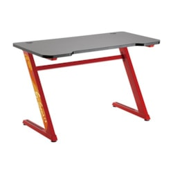 Brateck Z-Shaped Gaming Computer Desk-Red