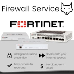 Firewall Service - Internet speed up to 1000/1000 - 36 Month Term