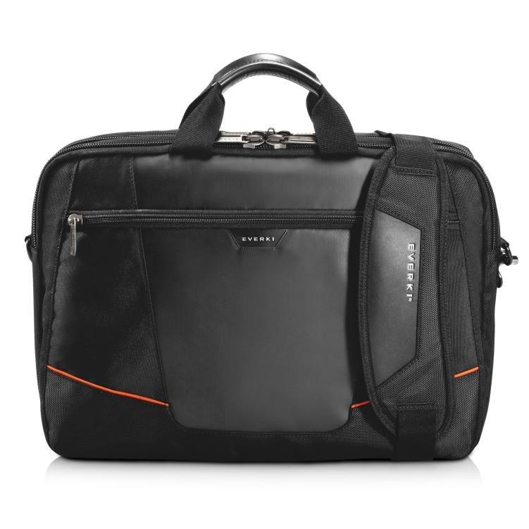 "Everki 16"" Flight Checkpoint Friendly Briefcase Bonus Altec Lansing R3volution X Headphones"