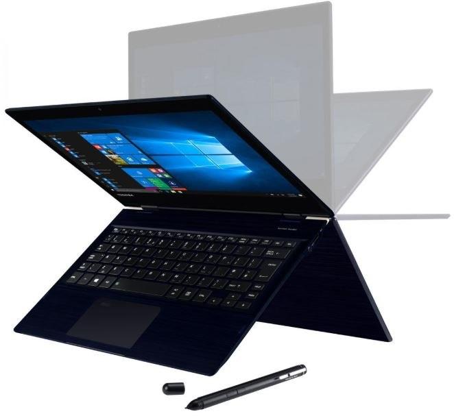 "Toshiba Portege X20W-E 31.8 cm (12.5"") Touchscreen 2 in 1 Notebook - 1920 x 1080 - Core i5 i5-8250U - 8 GB RAM - 256 GB SSD - Blue Black Hairline"