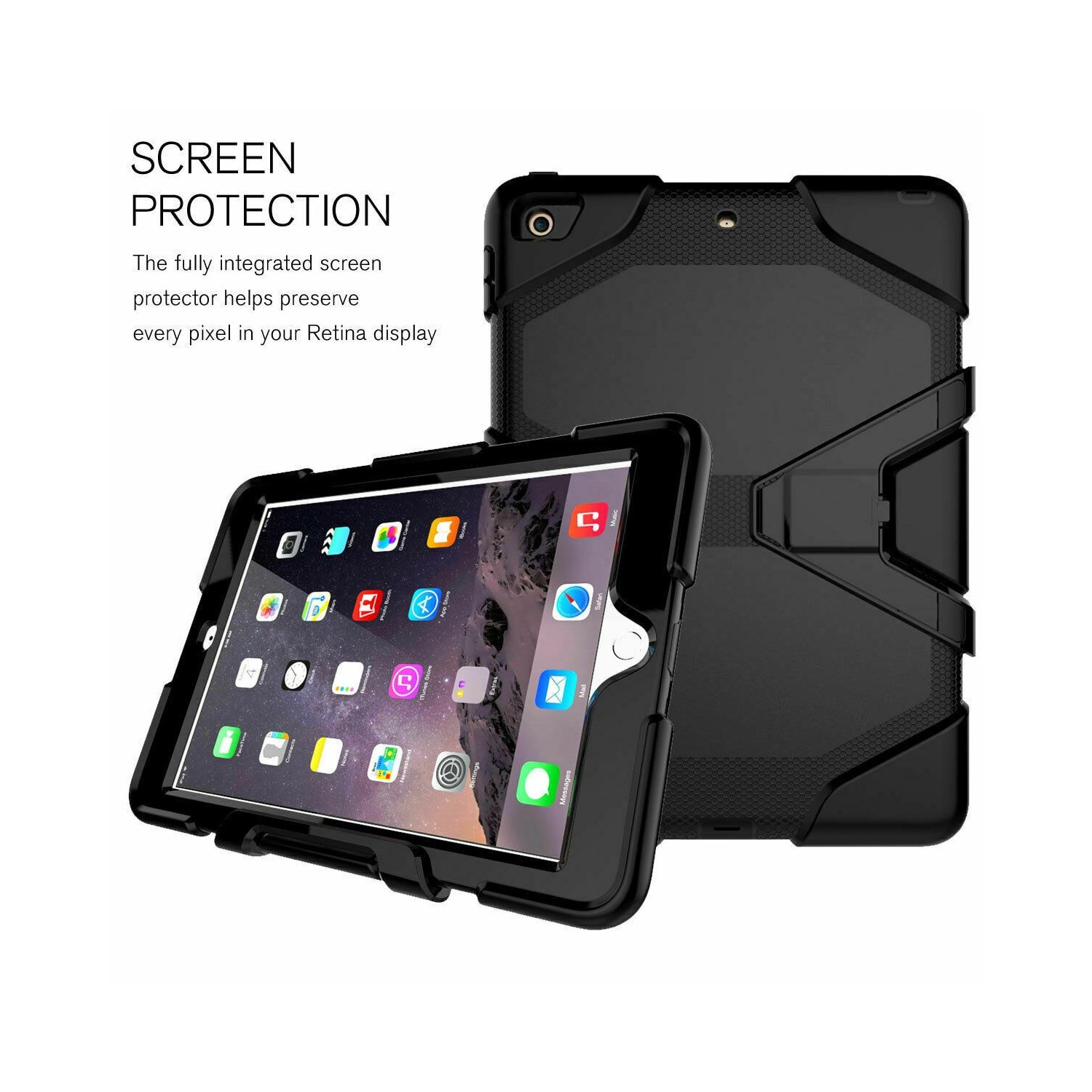 Buy Rugged Case for iPad 6th Gen 9.7 blue | InMart