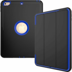iPad 9.7 2018 2017 6th Gen Shockproof Full Protective Cover Hybrid Hard Case blue