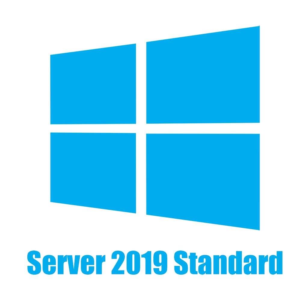Microsoft Windows Server 2019 Standard 64-bit - License - 16 Core
