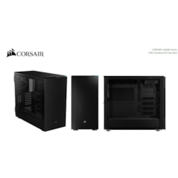 Corsair Carbide 678C Computer Case - Micro ATX, ATX, Mini ITX, EATX Motherboard Supported - Mid-tower - Steel, Tempered Glass, Plastic - Black - 13.06 kg