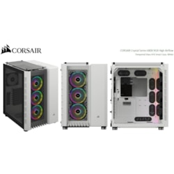 Corsair Crystal 680X RGB Computer Case - ATX Motherboard Supported - White
