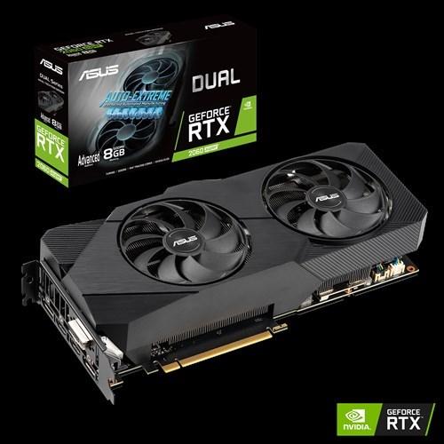 Asus Dual DUAL-RTX2060S-A8G-EVO GeForce RTX 2060 SUPER Graphic Card - 8 GB GDDR6