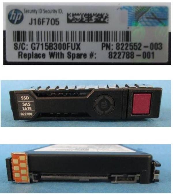 "HPE 1.60 TB Solid State Drive - 2.5"" Internal - SAS (12Gb/s SAS)"