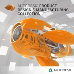 Autodesk Product Design & Manufacturing Collection - Single User, 1 Seat - 3 Year
