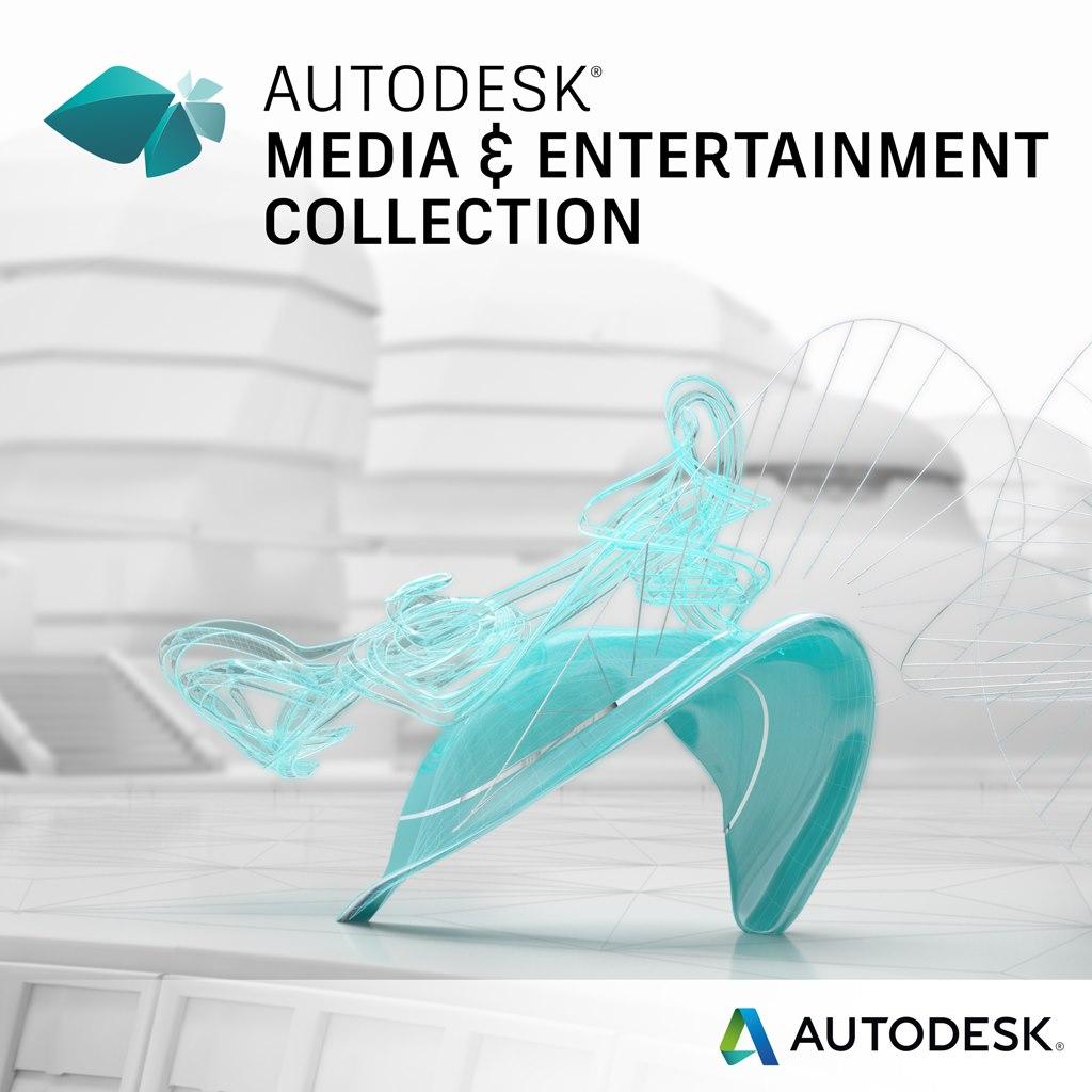 Autodesk Media & Entertainment Collection - Single User, 1 Seat - 3 Year