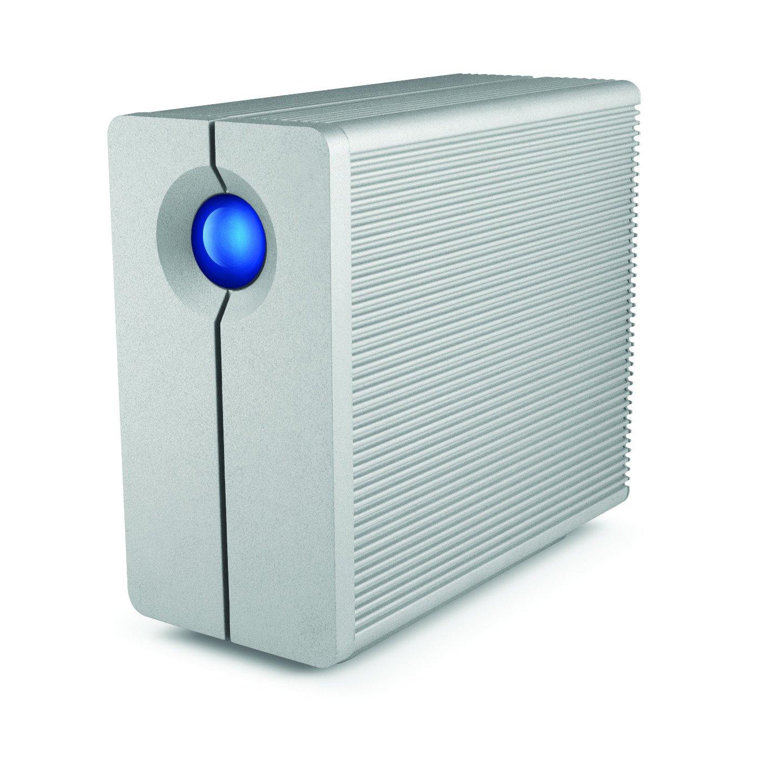 LaCie 2big Quadra STGL12000400 2 x Total Bays DAS Storage System - Desktop
