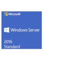 Microsoft Windows Server 2016 Standard 64-bit - License and Media - 16 Core - OEM