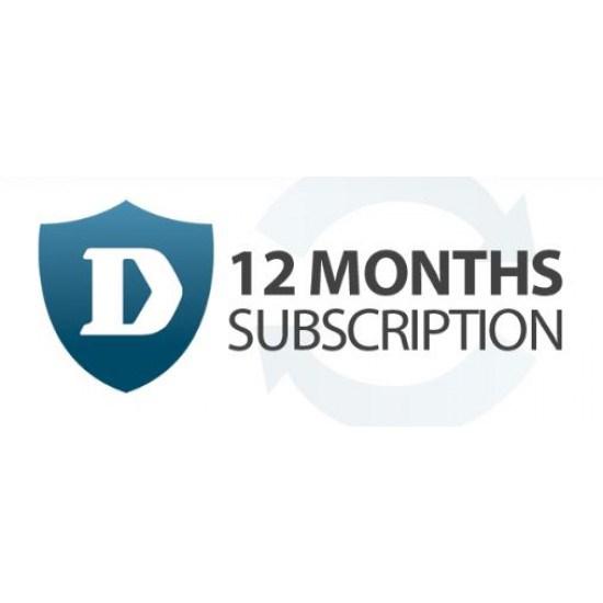 D-Link Hardware Licensing for D-Link NetDefend DFL-1660 UTM Firewall - Subscription Licence (Renewal) - 1 Year License Validation Period