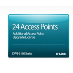 D-Link Hardware Licensing for D-Link DWS-3160-24PC 24-Port Gigabit PoE Unified Wireless Controller - 24 Additional Access Point - Electronic