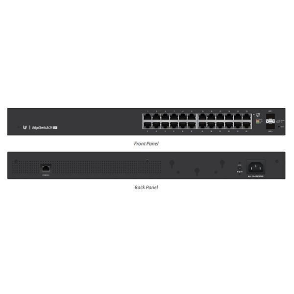 Ubiquiti EdgeSwitch Managed Gigabit Switch 24 Port With SFP 24 Port
