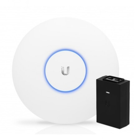 Ubiquiti UniFi Ap Ac Pro 802.11Ac Dual Radio Indoor/Outdoor Access Point - Range To 122M With 1300Mbps Throughput-With PoE Adapter