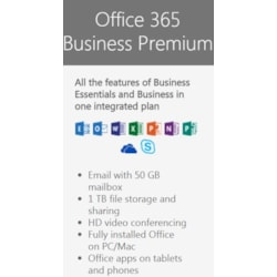 Office 365 Business Premium - Annual Commitment (Monthly Recurring)