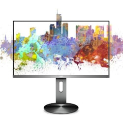 Aoc 27' Ips 5MS Full HD Frameless Business Monitor W/Has - Vga/Hdmi/Dp Speaker VESA100mm Height Adjustable